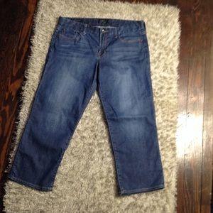 Lucky Brand sweet Jean Crop Jeans Size 14